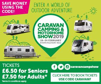 Caravan camping and motorhome show 2019