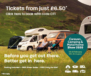 Buy NEC tickets - Motorhome & Caravan Show 2020