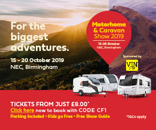 Buy Motorhome & Caravan Show 2019 NEC tickets
