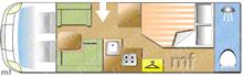 Swift 724, 2016 motorhome layout