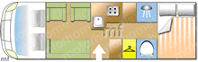 Pioneer frobisher, 2006 motorhome layout