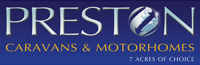 Preston Caravans and Motorhomes Logo Contact