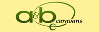 A and B Caravans Logo
