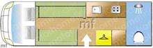 Elddis ENCORE 275 MAGNUM 2021 AU..., 2021 motorhome layout