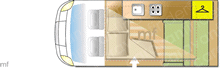 Vw Transporter, 2010 motorhome layout