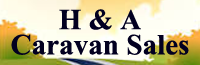 H and A Caravans Logo